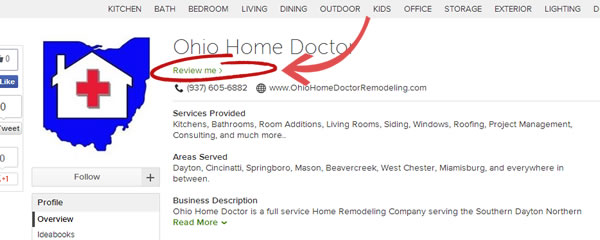 Review Ohio Home Doctor on Houzz.
