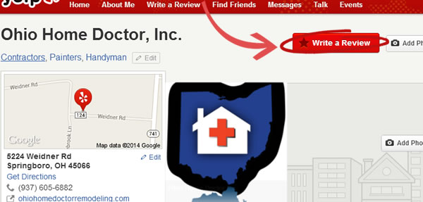 Review Ohio Home Doctor on Yelp.